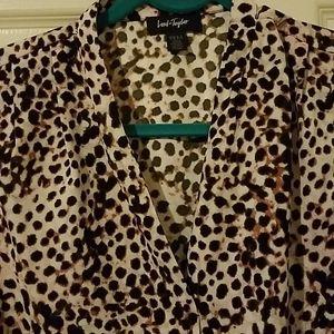 HOT NWT Animal print blouse